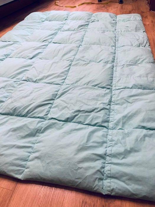 Перина-одеяло 140*200, б\у, обтянуто сатином, в хорошем состоянии Ровно - изображение 1