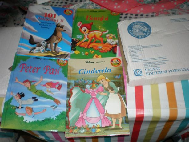 4 livros da Walt Disney novos