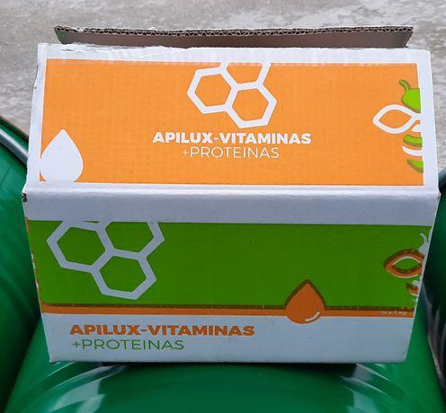 Apilux alimento para abelhas com vitaminas e proteínas