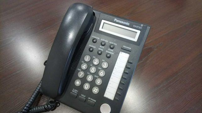 Telefon stacjonarny Panasonic KX-DT321 - 4 szt oraz KX-DT333 -2 szt