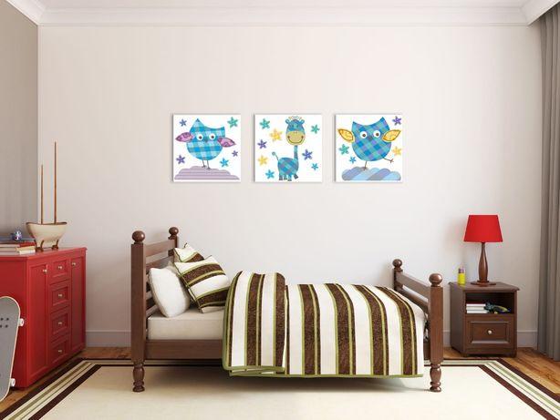5 obrazków,obraz na ścianę do pokoju dziecka na płótnie canvas NOWE