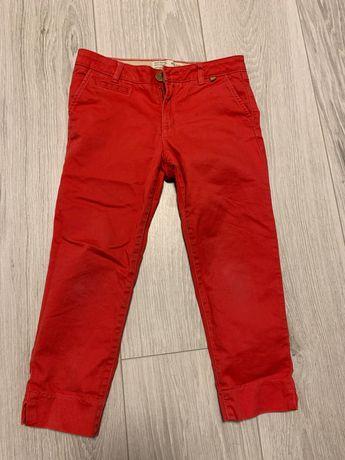 Красные джинсы Zara kids 116-122