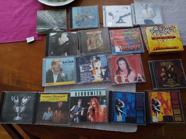 Płyty CD mega zestaw lenny peas Guns N Roses Santana róże itd uzywane