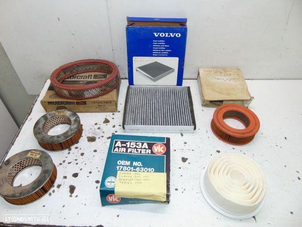 Antigos filtros de ar
