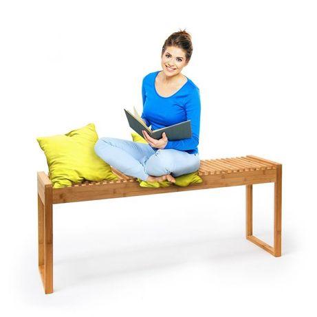 Relaxdays ławka z drzewa bambusowego
