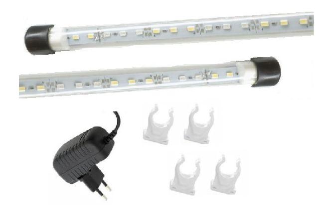 Oświetlenie akwarium led 2X70 CM nowość