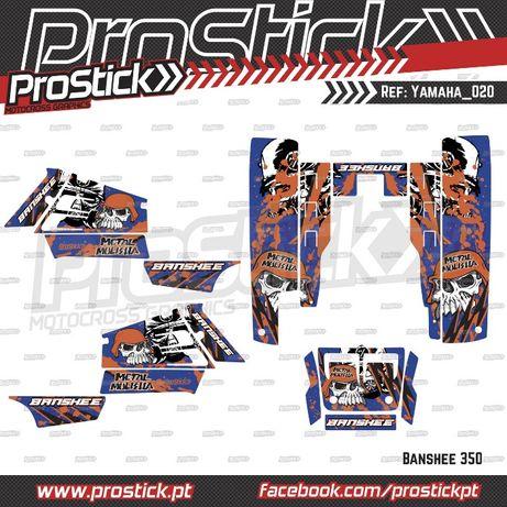 Kit autocolantes Yamaha Banshee