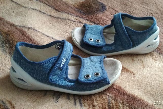 Джинсовые сандали Waldi