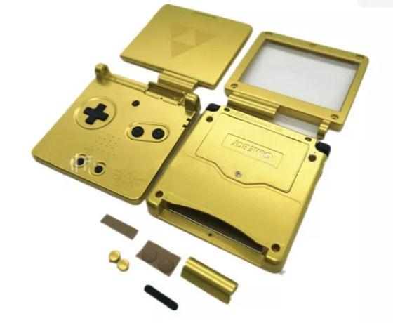 Gameboy SP-Carcaça/Shell Zelda
