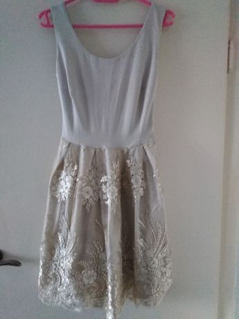 Złota sukienka 34