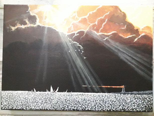 Картина Акрил Море и Небо после Шторма