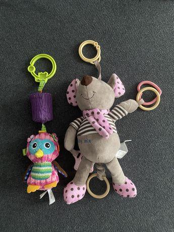 Zabawki sensoryczne, pozytywka, do zawieszenia.