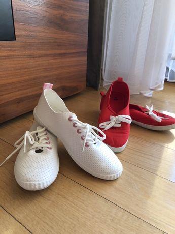 Dwie pary butów/trampek