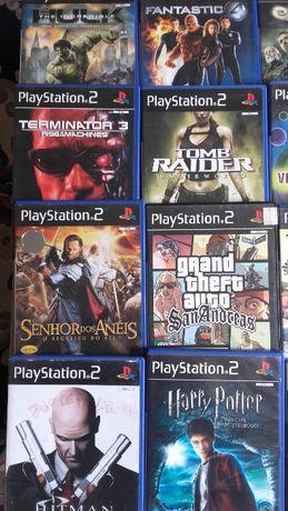 Jogos PS2 em muito bom estado