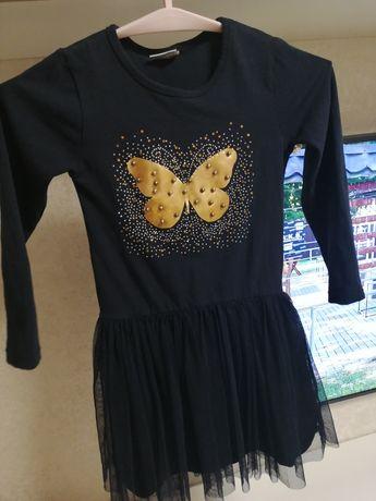 Платье нарядное 140