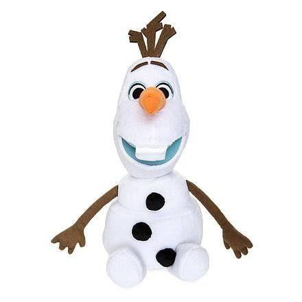 Снеговик Олаф мягкая игрушка 35 см
