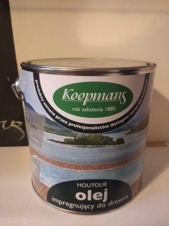 Olej impregnujacy do drewna koopmans kolor szary krakowski 050 2,5l