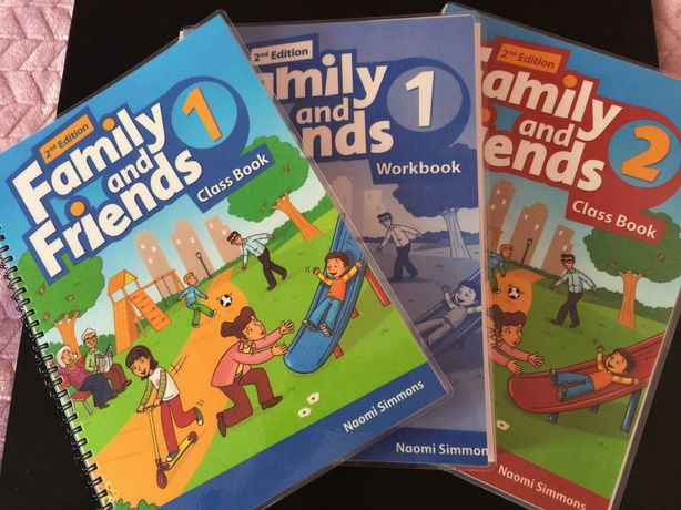 Family and Friends 1,2,3,4(наклейки) граматика1-4