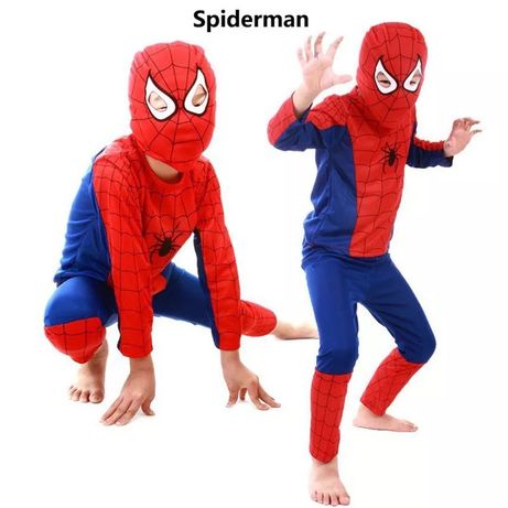 Костюм человека паука, спайдермена. Детский карнавальный Бэтмен