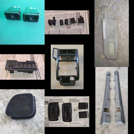 Moldura radio Botoes Embaladeiras Pala sol Grelhas para Seat ibiza 6k1