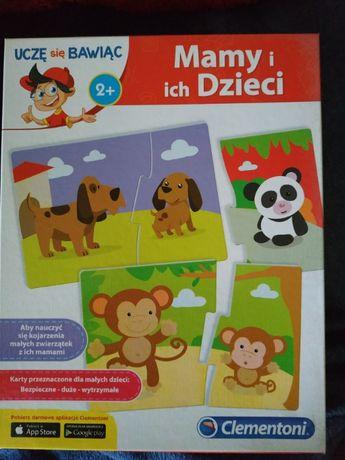 Mamy i ich dzieci puzzle dla 2 latka Clementoni