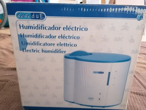 Humidificador elétrico bebéDuE para quarto de bebé como novo