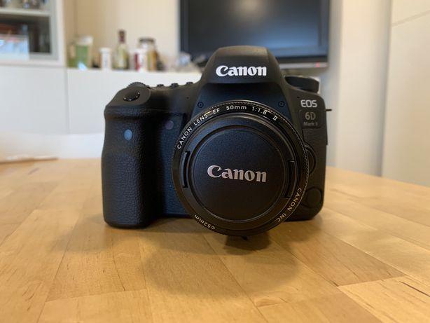 Canon 6D Mark II (com Lentes/extras/garantia/seguro)