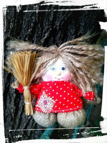 Подарок игрушка Домовенок Кузя handmade оберег сувенир
