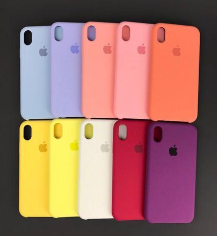 Силиконовый чехол на айфон Iphone 7 8 MAX 11 Xs SE 6 5 PLUS pro 12 XR
