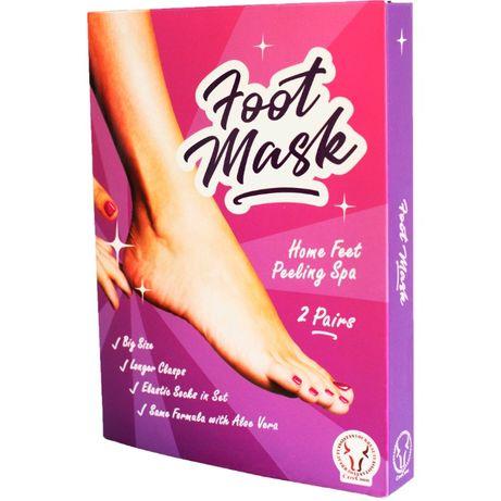 Пилинговая маска для ног, носки для пилинга ног CreeCoon США