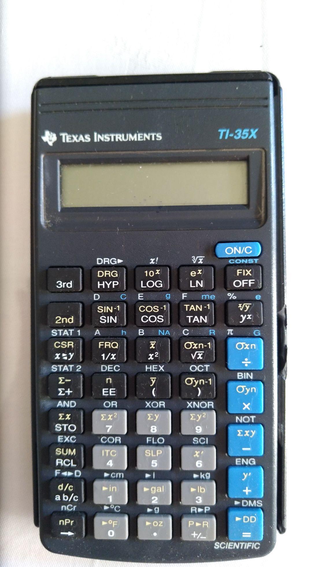 Calculadora científica Texas Instruments TI-35X