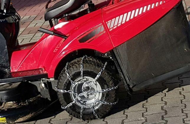 Łańcuchy śniegowe do traktorka quada melex
