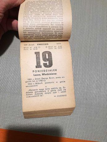 50 lat 50 rocznica Złote Gody kartka z kalendarza
