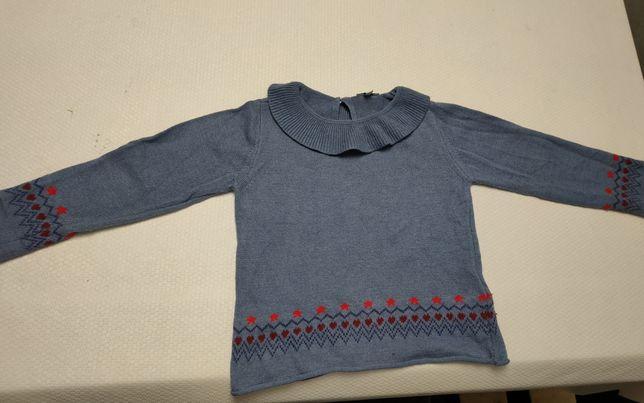Camisola lã de menina da Knot