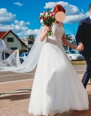 Suknia ślubna Ivory plus dwa welony gratis!