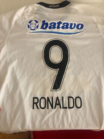 Camisola Corinthias Ronaldo fenómeno