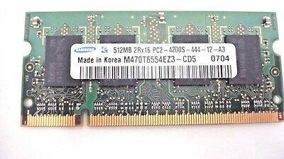Pamięć do laptopa Samsung 512 MB DDR2