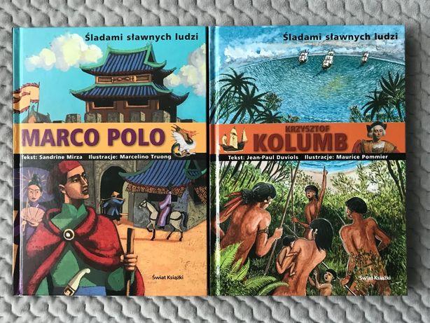 """""""Śladami sławnych ludzi"""" - """"Marco Polo"""" i """"Krzysztof Kolumb"""""""