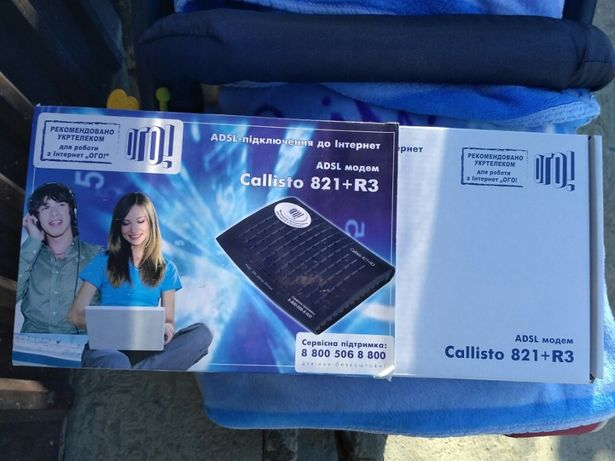Adsl Модем Callisto 821+R3