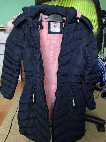 Акція!!! Зимова куртка-пальто на дівчинку