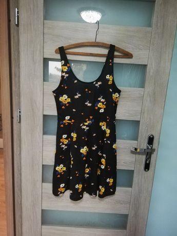 Sukienka w kwiatki kwiaty H&M rozmiar 40/42