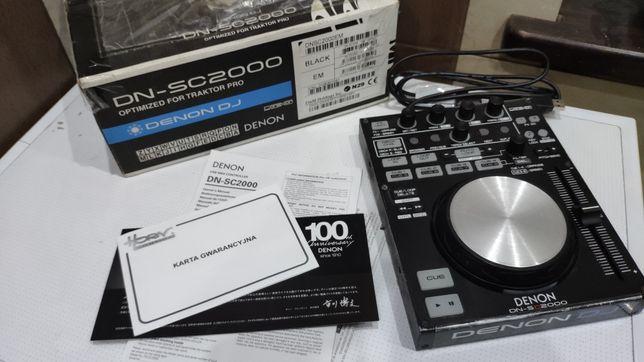 Denon SC2000, pełny zestaw