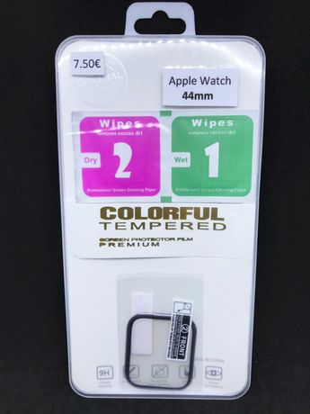 Película de gel Full Cover para Apple Watch 44mm / Película protectora