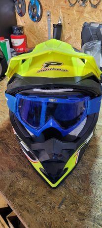 Kask motocyklowy ATV
