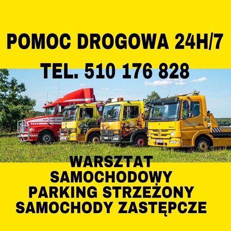 POMOC DROGOWA 24H/7 Holowanie Laweta Autolaweta Usługi Transport