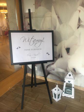 Tablica powotalna ślub wesele