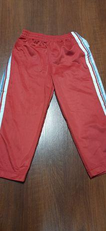 Czerwone spodnie Converse 2-3lata