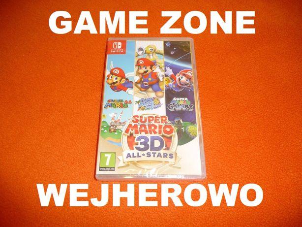 Super Mario 3D All Stars Nintendo Switch + Lite = Wejherowo = 3 gry !