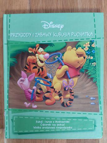 książeczka Przygody i zabawy Kubusia Puchatka
