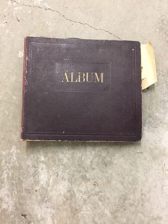 Álbum com discos antigos para grafenola